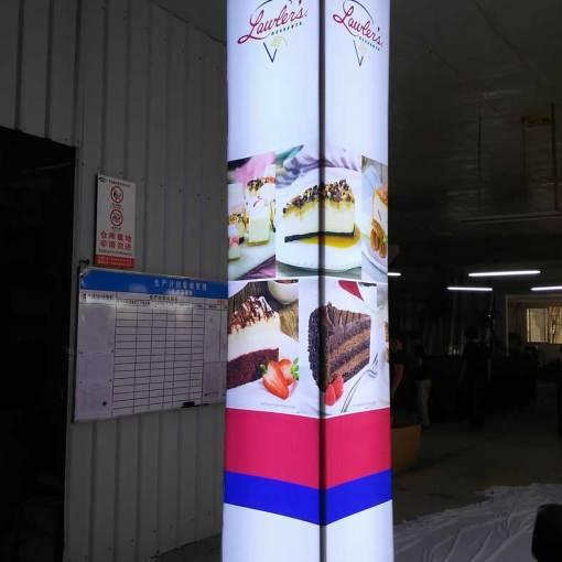 Lightbox-LED-Pillars
