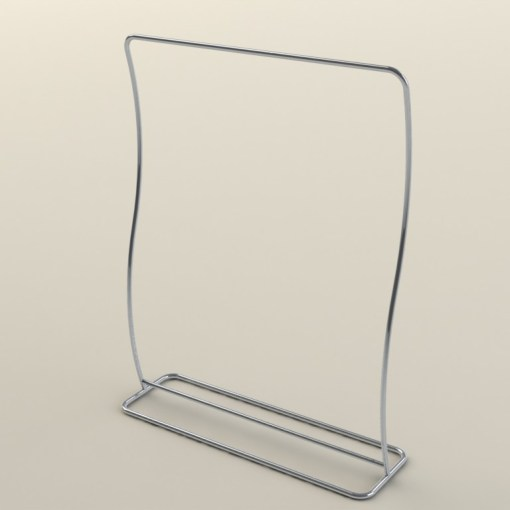 S Shaped 6 Foot Display Frame