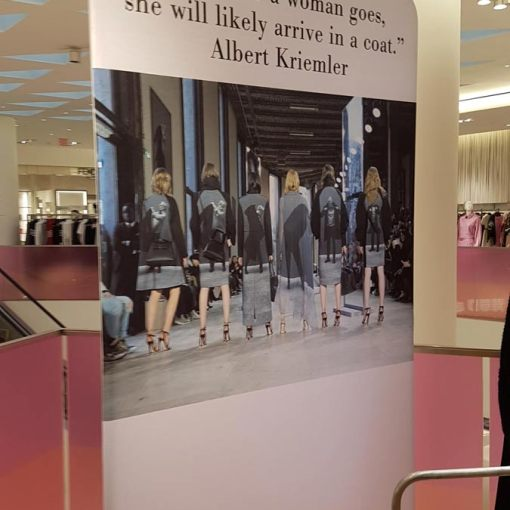 Retail Tension Fabric Display