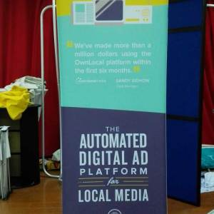 dye sublimation fabric banner stand