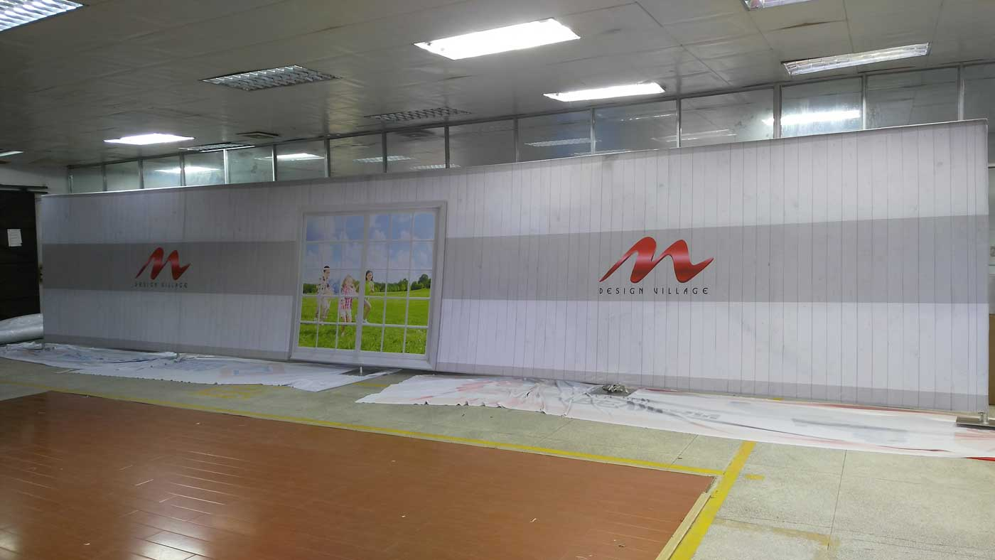 Exhibition printing 40 Foot Wall