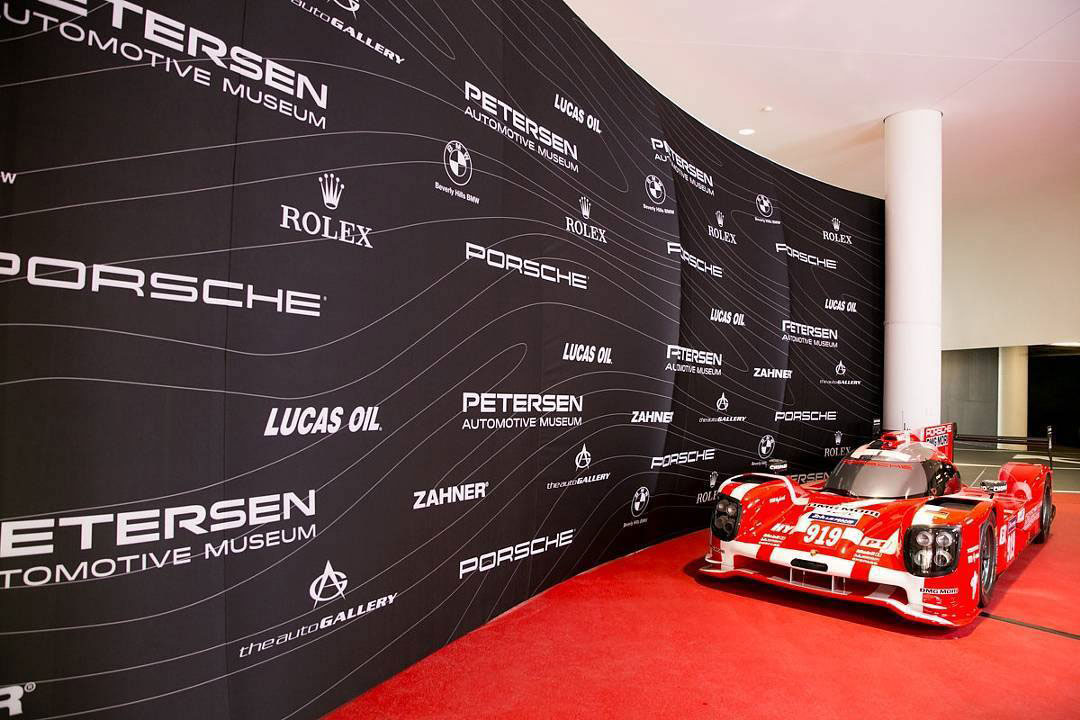 Red Carpet Logo Wall Oh My Print Solutions