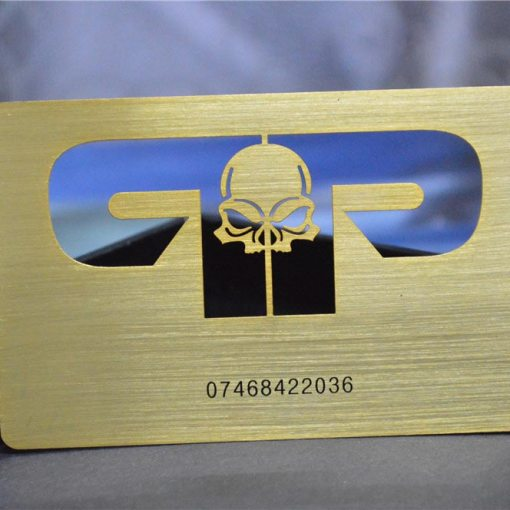 Brushed-Gold-Metal-Business-Cards