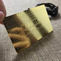 Luxury Metal Gold Business Cards