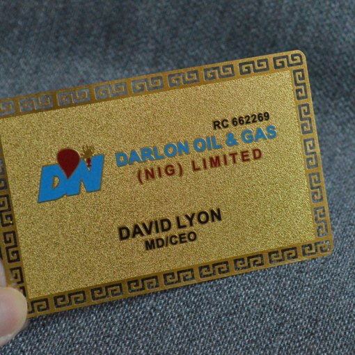 Gold-plated-metal-card