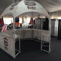 Custom printed promotional booth tent