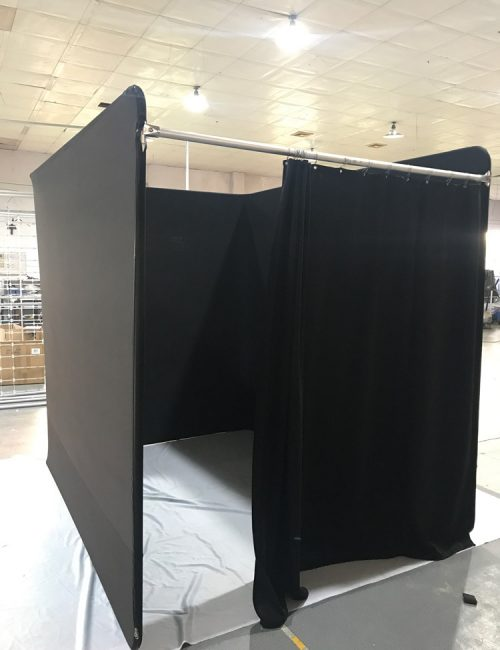 Stock-Black-Portable-Dressing-Room