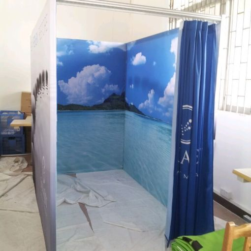 printed portable room