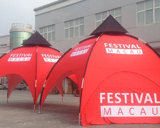 Arch Dome Tent Printing