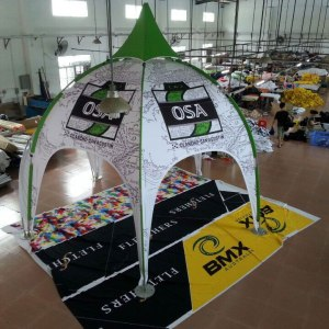 Printed Arch Dome Tents