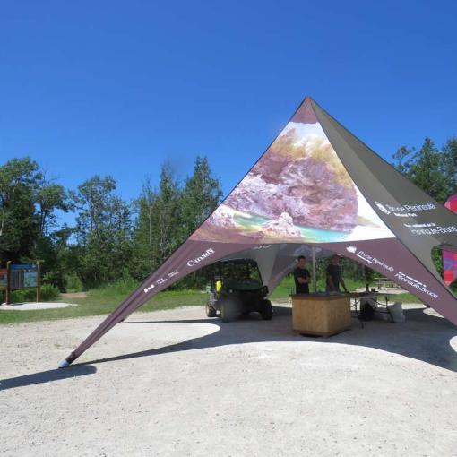 Customized-Star-Tent
