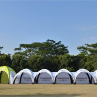 Inflatable canopy Tents