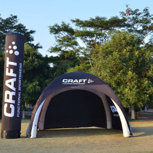 Inflatable-Tent-Tube-Banner