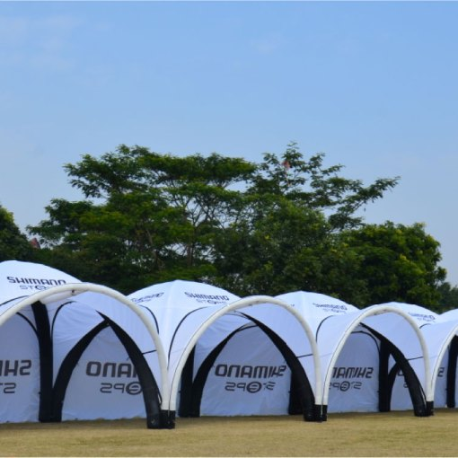 Inflatable Tent Printing