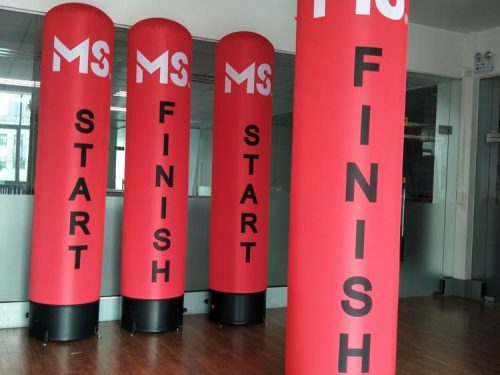 Inflatable Tube Banners