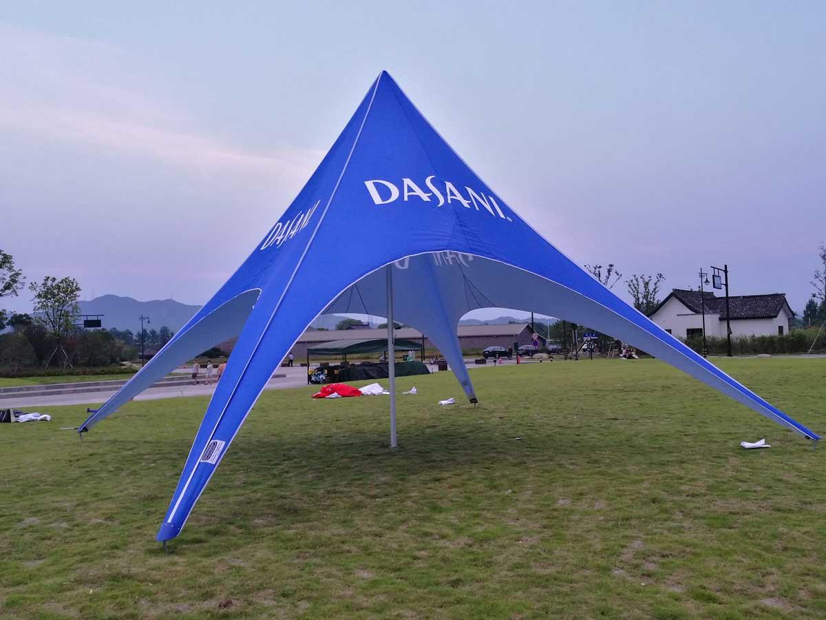 Single Pole Star Shade. Single Pole Star tent & Star Tents - Free Shipping - Canada - USA - Europe - Australia