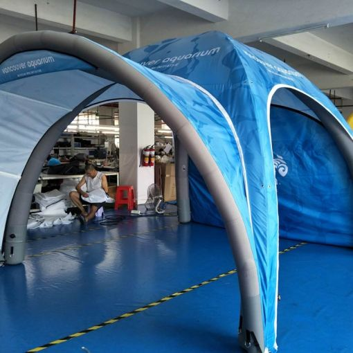 Printed-Inflatable-Tent