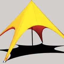 Single Pole Star Tent