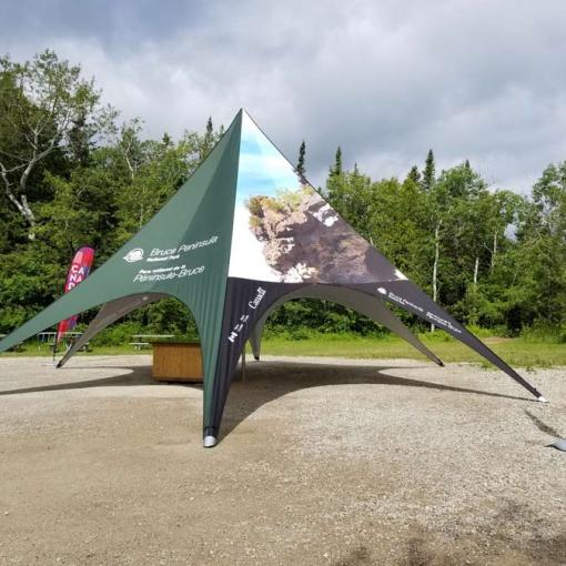 Large Festival Printed Tents