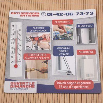 Custom Printed Thermometer Magnet for Fridge