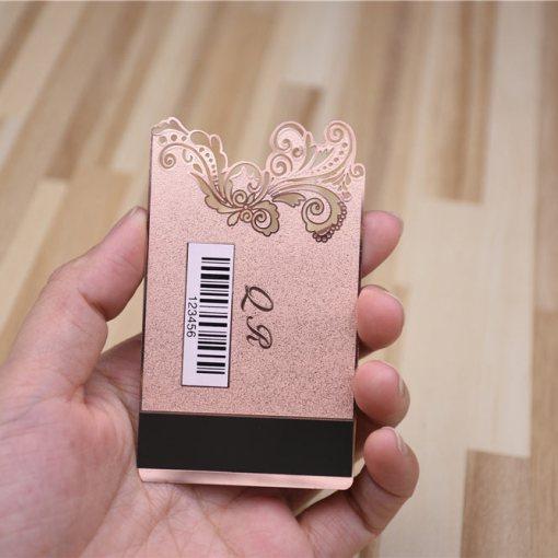 Die-Cut-Metal-Rose-Gold-Card