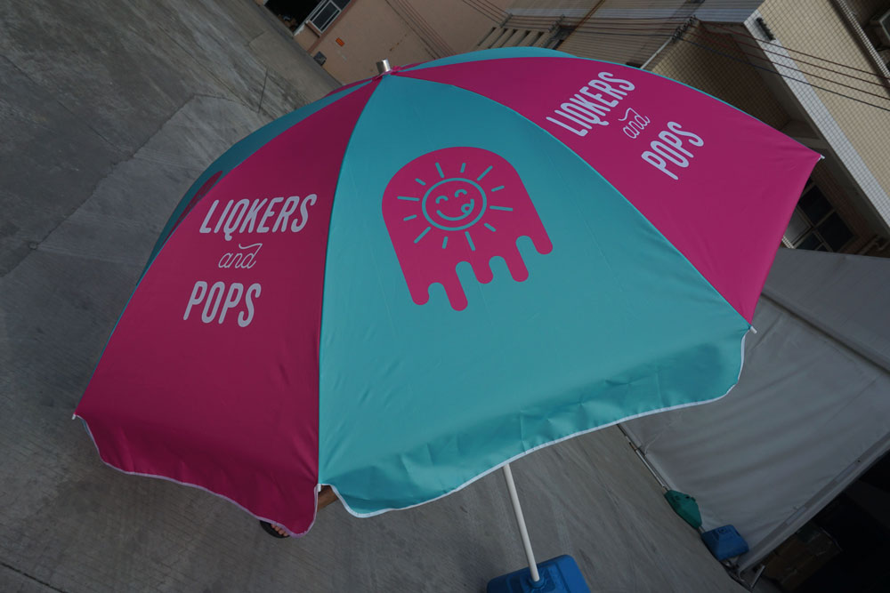 46a16de66c274 Patio Umbrellas | Custom Printed Patio Umbrellas | No minimum orders