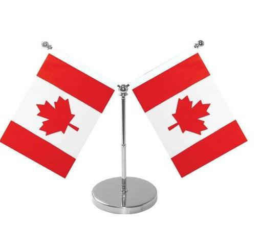 Double Desk Flags