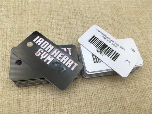 Key Tags with DOD Barcode