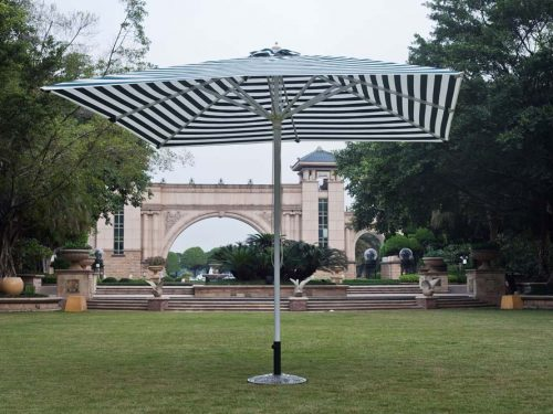 Restaurant Umbrella with Metal Base
