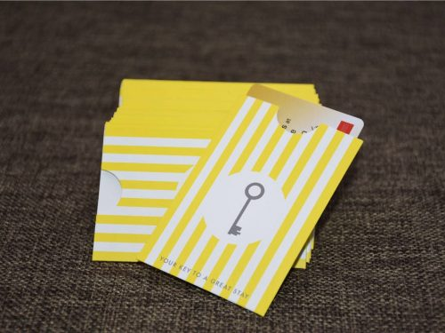 Personalized Gift Card Sleeve printing