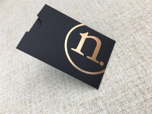 Gift Card Envelope - Matte - with Copper Foil