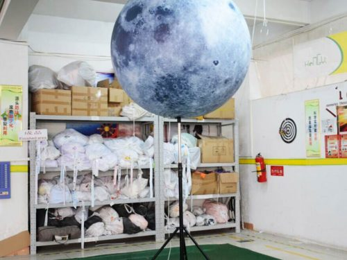 Inflatable Moon