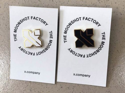 Pins with Backer Card