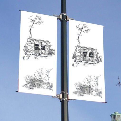 Street-Pole-Light-Post-Flags