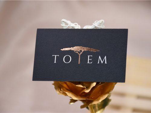 Copper Foil Cards Matte Black