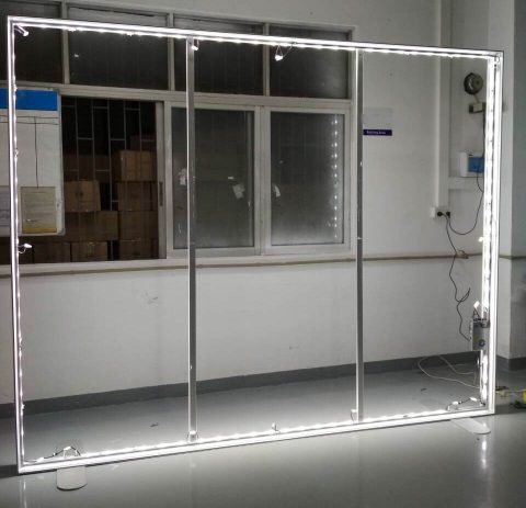 LED Frame for Silicone Edge Graphics