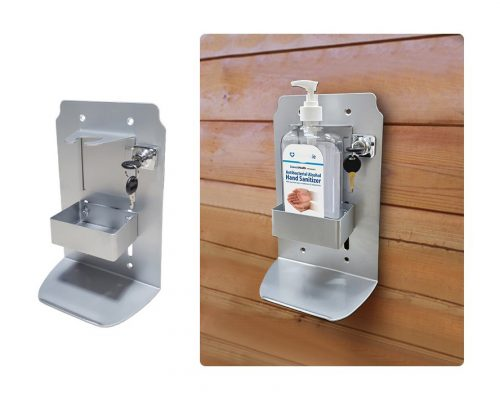 Hand Sanitizer Stand for Wall