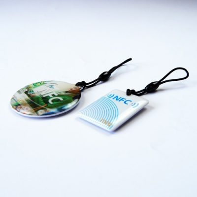 NFC Tags with Epoxy Finish