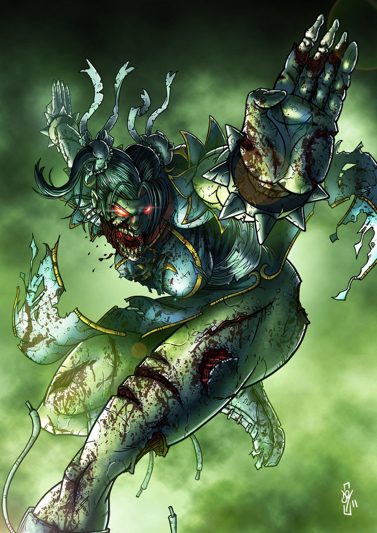Zombie Chun-Li & Cammy