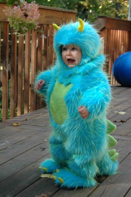 Cute Baby Monster Costume
