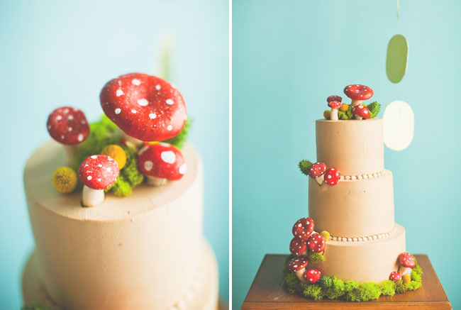 super mario wedding cake mushrooms