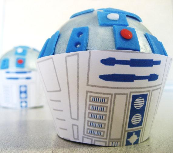 R2D2 Cupcakes!
