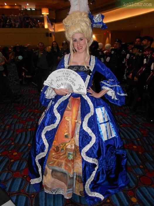 Marie Antoinette TARDIS Dress