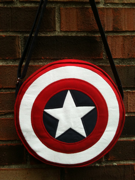 Captain America Shield Bag + Super Hero Swim Suits
