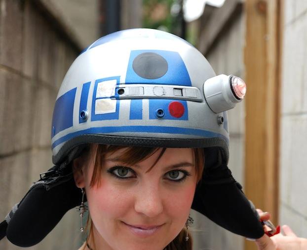 DIY Star Wars Bike Helmet