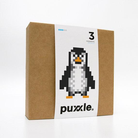 Penguin Puxxle - The Pixel Puzzle