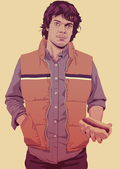 GAME OF THRONES 80/90s ERA CHARACTERS - Theon Art Print