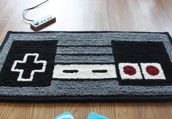 NES  Nintendo Controller Rug