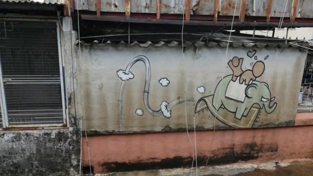 Graffiti in Bangkok