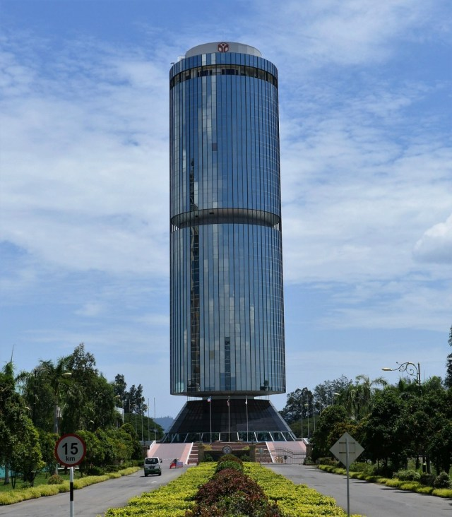 Tun Mustapha Tower, das Sabah State Administrative Centre